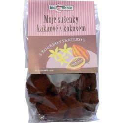 Bio MOJE SUŠENKY kakaové s kokosem 130 g - Bio nebio
