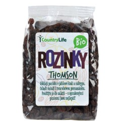 Rozinky Thomson 500 g BIO   COUNTRY LIFE