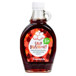 Sirup brusinkový  250 ml BIO   COUNTRY LIFE