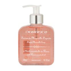 Mýdlo Marseille tekuté s éterickým olejem růže 300 ml   DURANCE