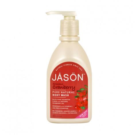 Gel sprchový brusinka 887 ml   JASON