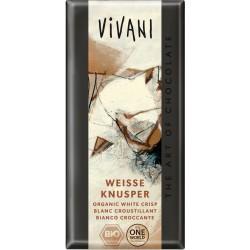 Bio bílá čokoláda křupavá  VIVANI 100 g