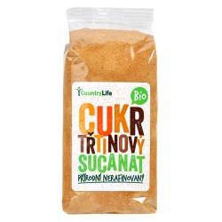 Cukr třtinový Sucanata s melasou 500g BIO   COUNTRYLIFE
