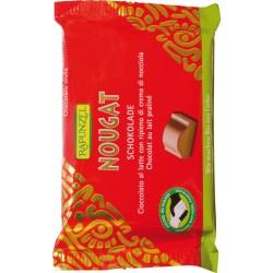 Bio čokoláda mléčná s nugátovou náplní RAPUNZEL 100 g