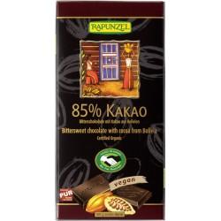 Bio čokoláda hořká 85 % RAPUNZEL 80 g