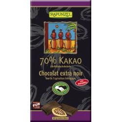 Bio čokoláda hořká 70 % RAPUNZEL 80 g