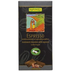 Bio čokoláda hořká ESPRESSO RAPUNZEL 80 g