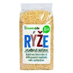 Rýže jasmínová natural 500g BIO   COUNTRYLIFE
