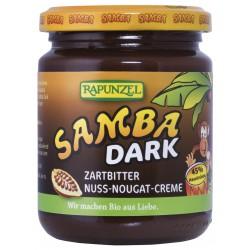 Bio SAMBA DARK - čokoládovo oříšková pomazánka 250 g RAPUNZEL