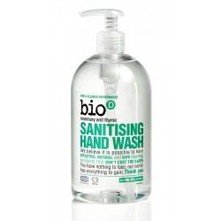 Bio-D Tekuté mýdlo na ruce s dezinfekčním účinkem s vůní rozmarýny a tymiánu (500 ml)