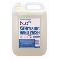 Bio-D Tekuté mýdlo na ruce s dezinfekčním účinkem - Náhradní kanystr (5 L)
