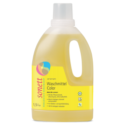 SONETT tekutý prací gel na barevné prádlo 1,5L