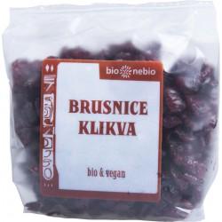 Bio brusnice klikva s jablečnou šťávou 75 g Bio nebio