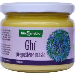 Bio přepuštěné máslo ghí ČESKÉ BIO 330 ml Bio nebio