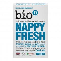 Bio-D Odstraňovač skvrn a dezinfekce plenek 500g
