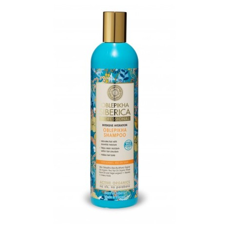 Natura Siberica - Rakytníkový hydratační šampon pro suché vlasy 400 ml