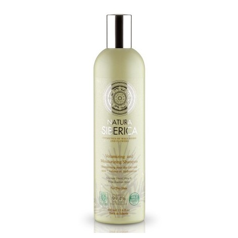 Natura Siberica - Objemový šampon pro suché vlasy 400 ml