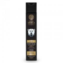 Natura Siberica, Muži - Osvěžující pánský sprchový gel Bílý Medvěd, 250 ml
