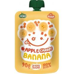 OVKO Bio kapsička jablko, karotka, banán 90 g