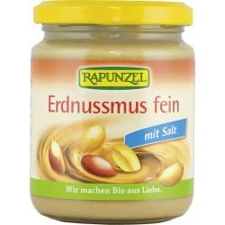 Bio arašídová pasta jemná se solí 250 g Rapunzel