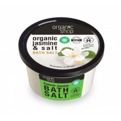 Organic shop - Sůl do koupele - Kašmír a jasmín, 250 g