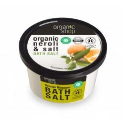 Organic Shop - Sůl do koupele - Pomerančové květy, 250 g