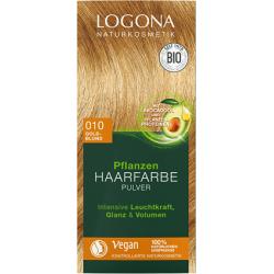 Logona Barva na vlasy přírodní zlatá blond, 010 100g