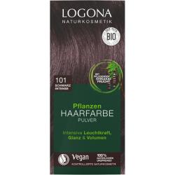 Barva na vlasy přírodní Intenzivní černá101, 100g - Logona