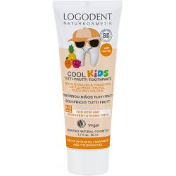 LOGODENT Cool KIDS Tutti Frutti Zubní gel 50 ml - Logona