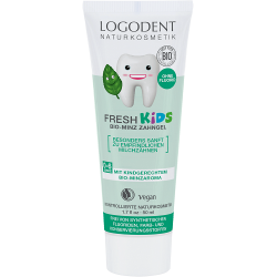 LOGODENT FRESH KIDS Zubní gel Bio Máta 50 ml - Logona