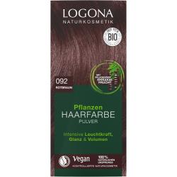 Barva na vlasy přírodní červenohnědá 092 - 100g - Logona