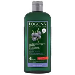 LOGONA Šampon proti lupům Jalovcový olej 250ml