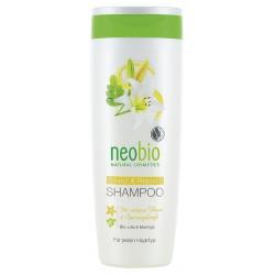 Neobio Šampon Lesk a regenerace Bio Lilie & Moringa 250 ml