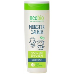 Neobio KIDS Koupel a Sprchový gel Bio Aloe & Betain 200 ml