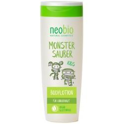 Neobio KIDS Tělové mléko Bio Karite máslo & Mandlový olej 250 ml