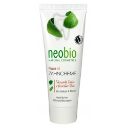 Neobio Zubní krém Bio-Šalvěj & Bio-Aloe Vera 75 ml