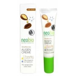 Neobio Zpevňující oční krém AGE ACTIVE Bio Arganový olej & Hyaluron 15 ml