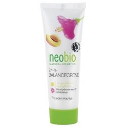Neobio 24-h Balance Krém Bio-Meruňkový olej & Ibišek 50ml