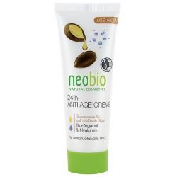 Neobio 24h Anti Age Krém Bio Arganový & Hyaluron 50 ml