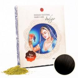 Henna & Indigo 200g (kombinovatelné s hennou) - INDIAN NATURAL
