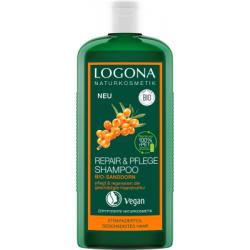 LOGONA Regenerační & Pěstící šampon Bio Rakytník 250ml