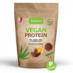 Kompava Vegan Protein 525g - čokolada/pomeranč