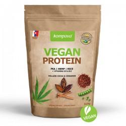 Kompava Vegan Protein 525g - čokolada/škořice
