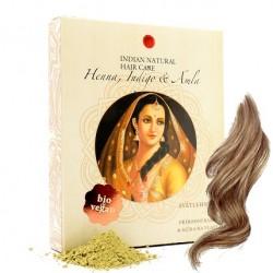 Henna, Indigo & Amla 200g - světlehnědá barva - Indian Natural