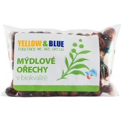 Bio mýdlové ořechy PODS 250 g - Yellow & Blue