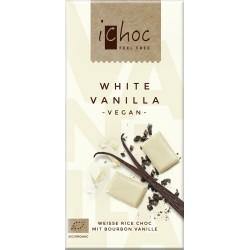 Bio bílá rýžová čoko iChoc 80 g