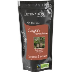 Bio černý čaj Flowery Pekoe N°103 100 g - Destination