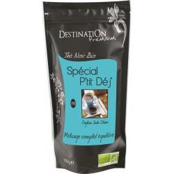 Bio černý čaj Spécial P&39tit Dej&39 N°111 100 g - Destination