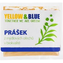 Bio prášek z mýdlových ořechů 100 g - Yellow & Blue