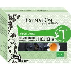 Bio zelený čaj Hojicha 20 x 2 g - Destination